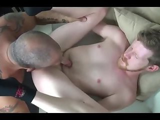 Taking beefy dad's beefy cock