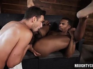 Big dick bottom oral sex with cumshot
