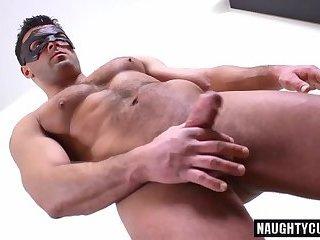 Big dick gay blowjob with cumshot