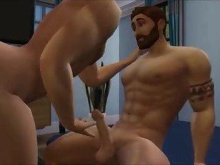 Bad Dad - gay toon