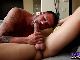 Hot Dalton Riley punished in the ass by big dick Johnny Hill