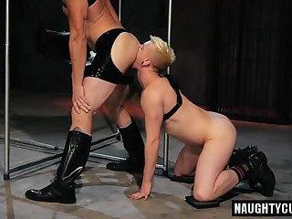 Hot gay fetish with facial