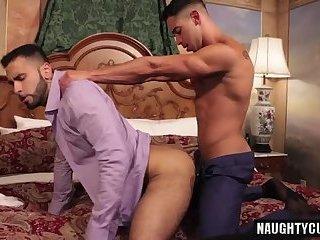 Latin gay foot fetish and cumshot