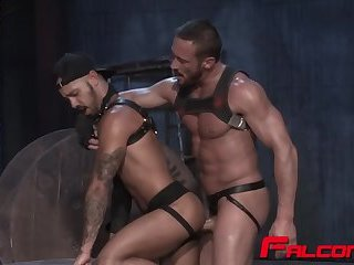Myles Gets Tight Asshole Filled By Big Dong