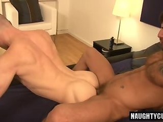 Big dick gay fisting and cumshot