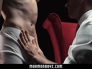 Mormonboyz - Dominant priest spanks naughty Mormon boy
