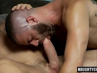 Stallion Rocco's Big dick gay oral sex