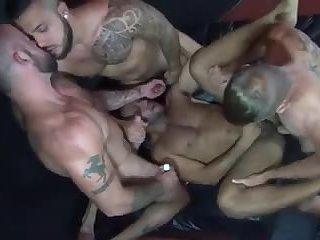 Gangbang barebacks Mexican Ass