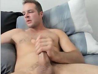 Cute Man Cumming
