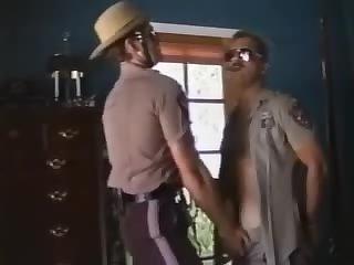 Cowboy Sheriff Sucks Off A Cop