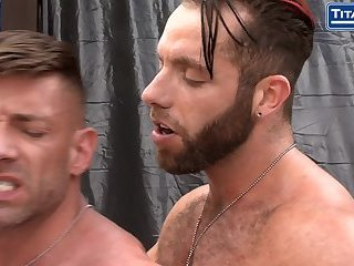 Parole: Bruce Beckham and Eddy Ceetee - SC2 -Officers ass fuck outdoors