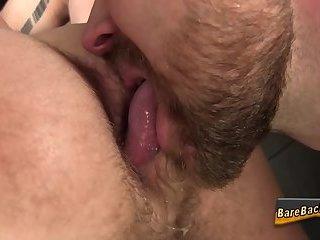 Amateur bareback pounded