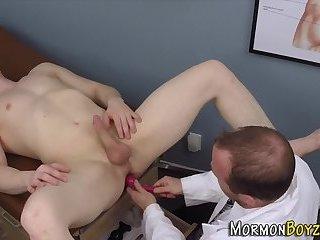 Pegged mormon shoots cum