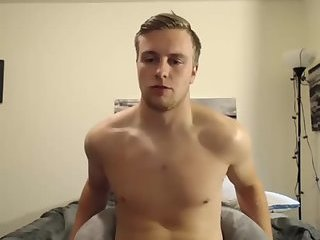 Handsome young cam boy