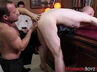 Tied up mormon fingered