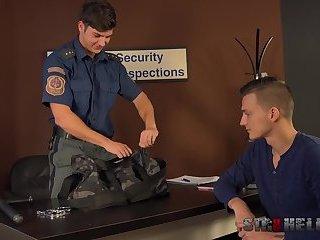 airport security bareback