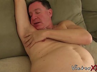Sex starved butt buddies take turn drilling each other