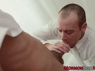 Dick sucked mormon twink