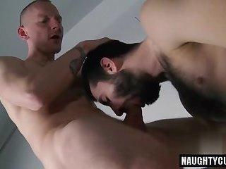 3 way gay making out sucking