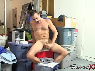 Horny cock sucker was waiting all day to gobble juicy prick
