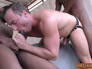Muscle son oral and cumshot