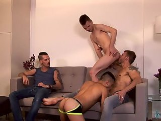 Danny Montero, Kamyk Walker, Matthew Anders, Nathan Hope