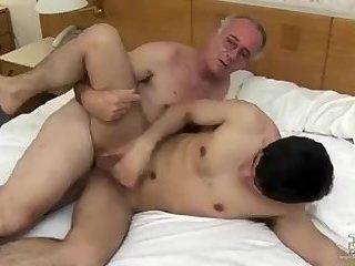 Daddy pound Skinny anal