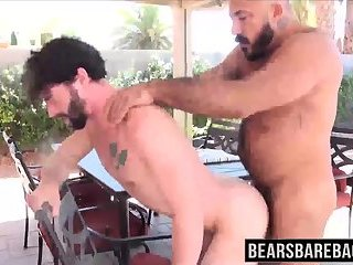 Hunk Jackson Fillmore getting ass barebacked by Alessio