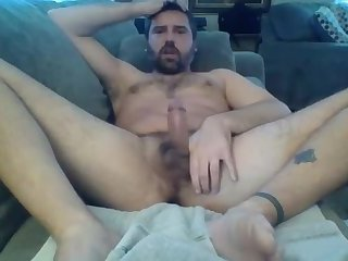 Party dilf hits the poppers