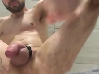 Fisting my sloppy man cunt