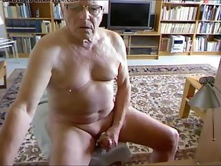 Gramps beats his old meat