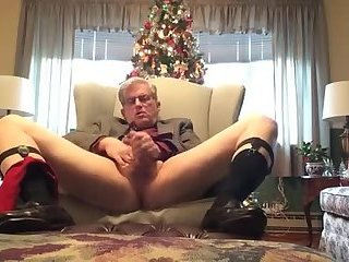 A silver daddy Christmas