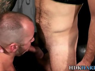Raw rammed dude creampied