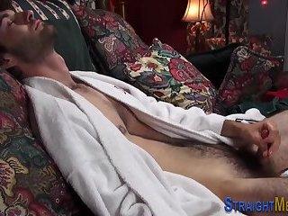 Straighty blows cum load