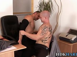 Bear fucks tight ass raw