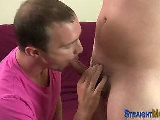 Straighty shoots his load