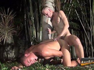 Raw fucked guy creampied