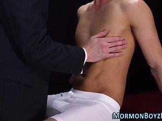 Punished mormon barebacks