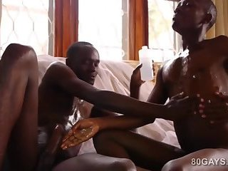 African Twinks Steven and Patrick Fuck Bareback