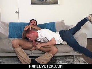 FamilyDick - Stepson slut punished fucked by angry stepdad