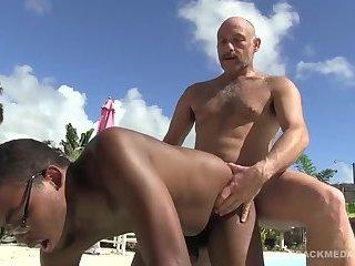 Daddy Sailor Blue bare fucks Donny Ray