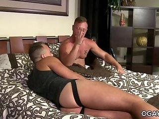 Huge cocked mature gays fooling around