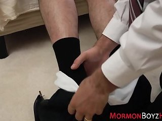 Undies mormon nailed raw