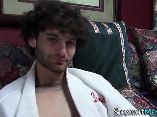 Curly-hair gay blowjob mp4