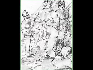 Tom of Finland-- [Vintage Slides]