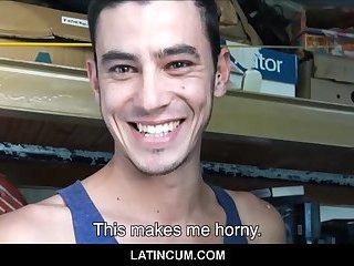 Three Amateur Gay Latina Twinks Meet & Suck & Fuck For Cash
