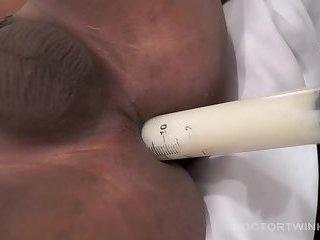 Medical Fetish Asians Simon and Russel Bareback