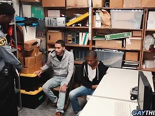 Two Black Boys Fucked For Stealing