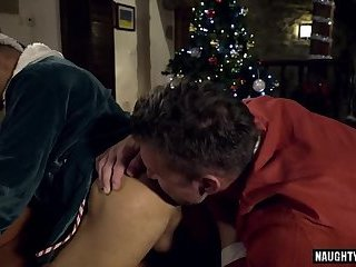 Big dick gay anal sex with cum swap