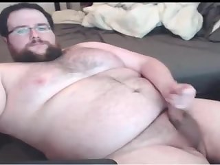 Big chub beating off